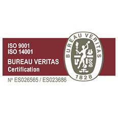 Logotipo de la certificación ISO -9001