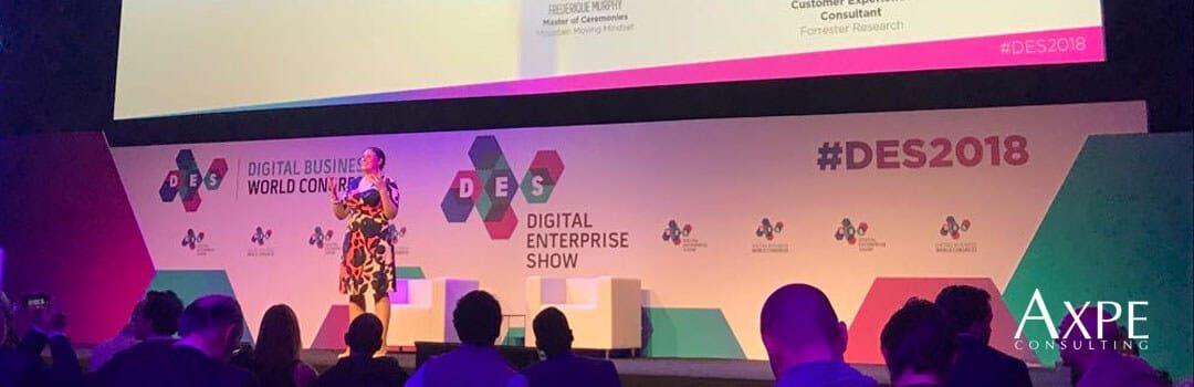 El equipo de AXPE acude al Digital Enterprise Show 2018 para conocer lo último en tecnología